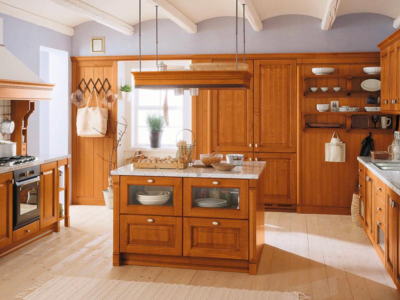 Arredamento artigianale stile rustico
